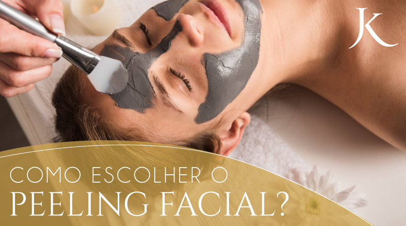Como escolher o peeling facial? - JK Dermatologia