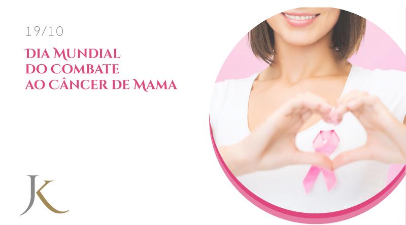 Dia Mundial do Combate ao Câncer de Mama - Clínica JK Dermatologia